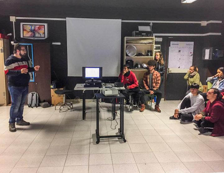 Charla Juancho Garcia en la Escuela de Arte Manolo Blahnik