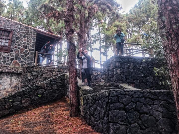 Salida de La Escuela de Fotografía de Breña Baja por lugares incónicos del municipio