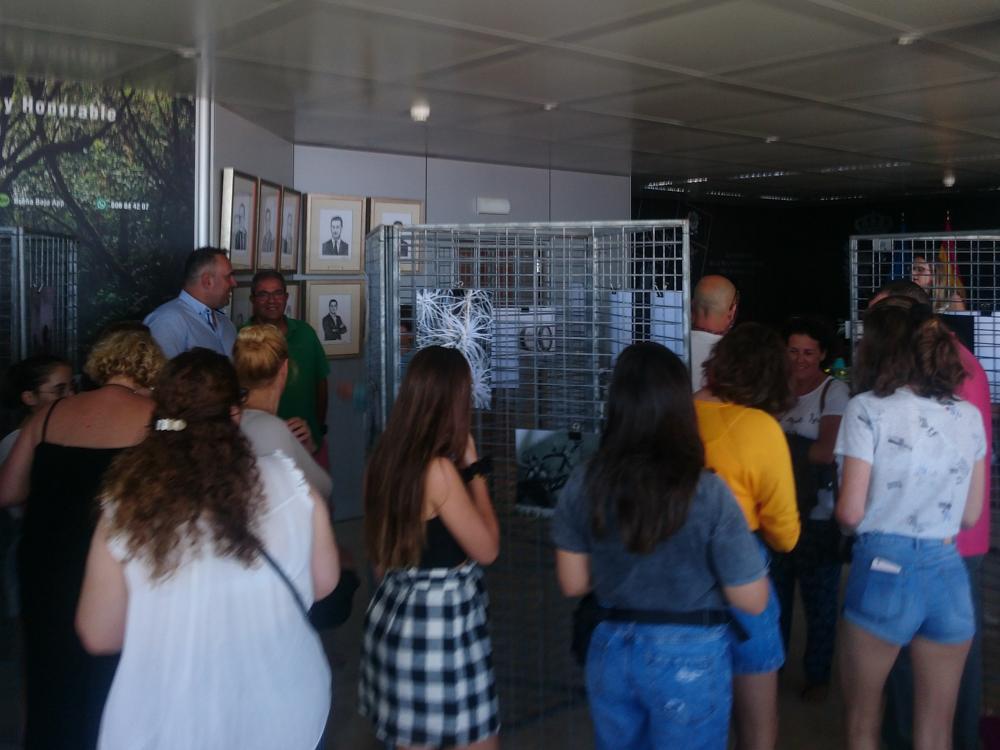 Inauguración Exposición Alumnos Fotografía Breña Baja