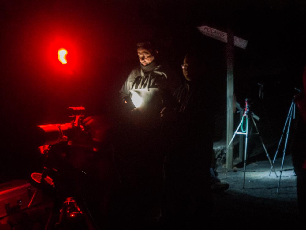 Salida nocturna Escuela Fotografia Breña Baja
