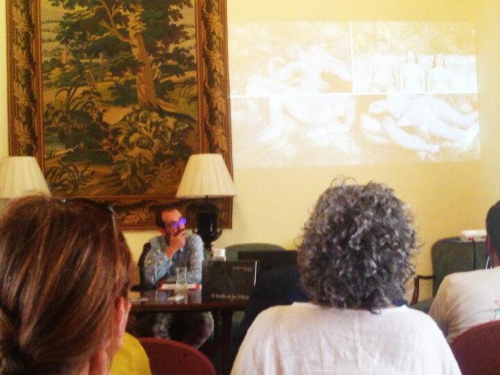 Presentación El jardín de la delicias por Antonio Morales